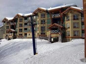 Ski in ski out onto Plaza chair right from your guest ski locker on main floor