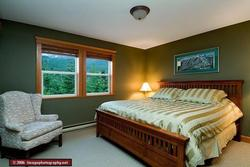 Master Bedroom - Has a Great Valley View.