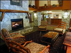 The Aspens Lodge itself is a great place to greet and entertain.
