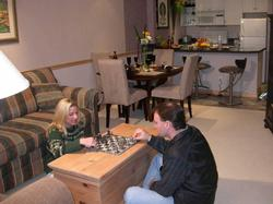 ...or enjoy a good game of chess like our previous guests have!