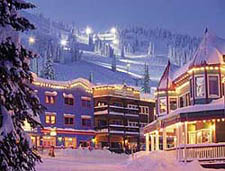 Silver Star Village in Winter