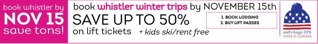 Discount Whistler Lift Tickets